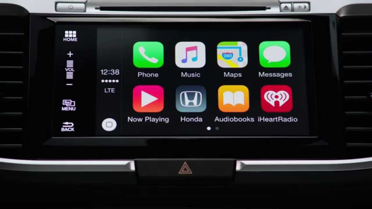 Honda Introduces Apple Carplay Youtube