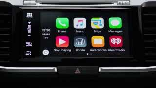 Honda Introduces Apple CarPlay