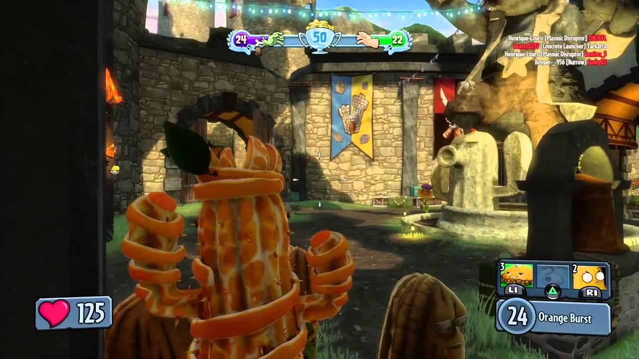 Plants vs Zombies Garden Warfare: Team Vanquish Multiplayer Gameplay ...