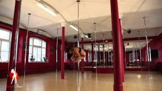 Видеоуроки Школы танцев Exotic Dance. Урок 26: Срыв с шеста.