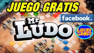 Mr Ludo Juego de Parchis online Gratis Android, IOS, PC en Facebook Gameroom