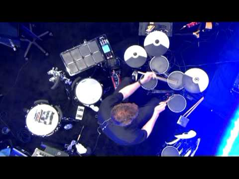 roland td 4kp v drums portable set demo youtube. Black Bedroom Furniture Sets. Home Design Ideas