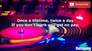 WOT - CAPITAIN SENSIBLE - ( Karaoke )