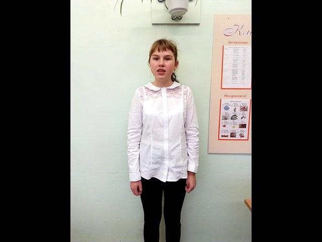 Изображение предпросмотра прочтения – ЯнаГурьянова читает произведение «Удивительная осень» О.А.Фокиной