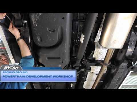 Mazda BT-50: Powertrain Development Workshop