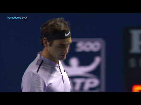 Federer sets up Del Potro final | Basel 2017 Semi-Final Highlights