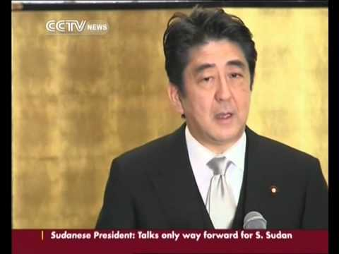 Shinzo Abe lays out political and economic agenda