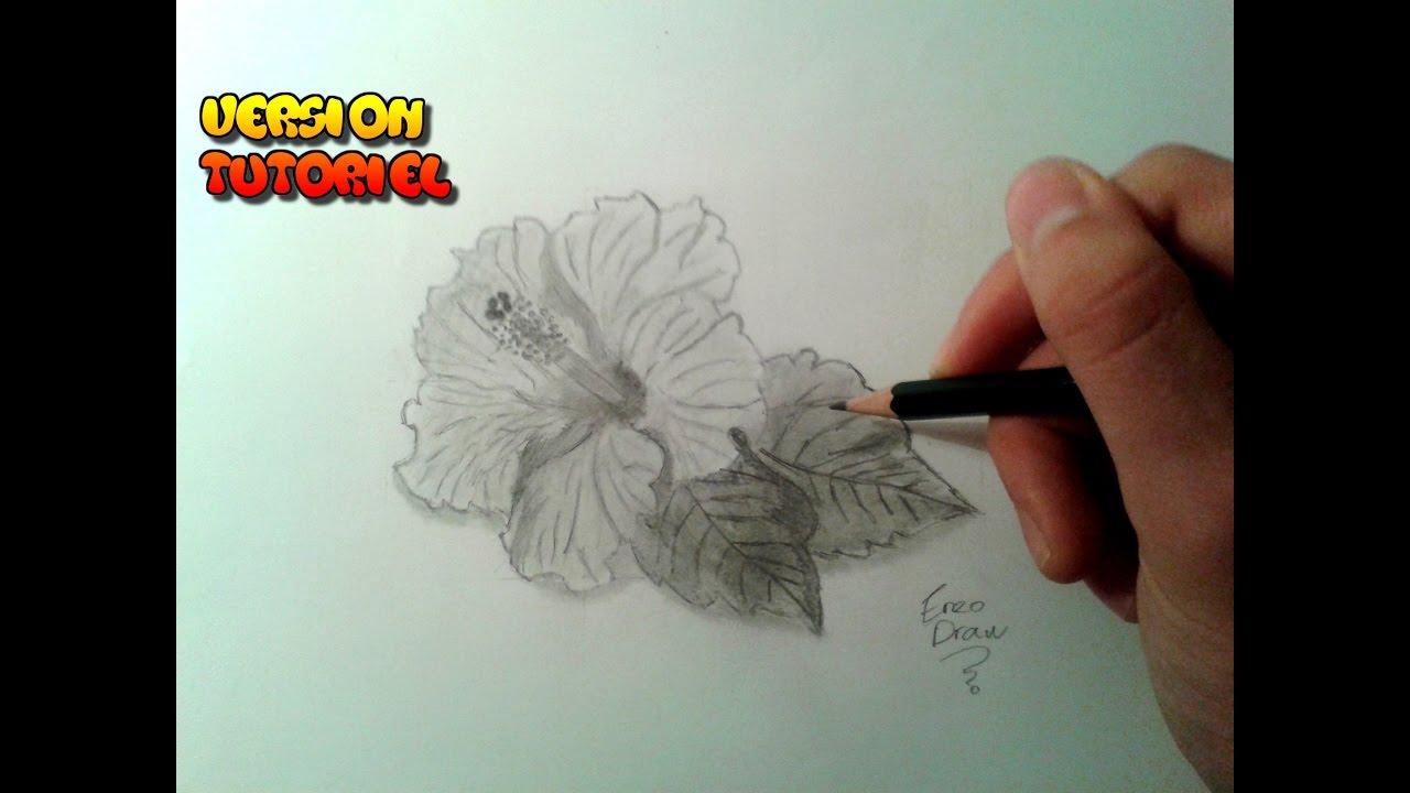 Comment dessiner une fleur tutoriel youtube - Comment dessiner une fleur ...