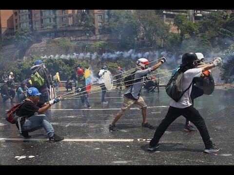 DOZENS KILLED, HUNDREDS INJURED IN ANTI GOVERNMENT PROTESTS IN VENEZUELA