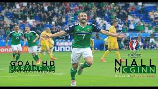 Niall Mcginn Goal HD - Ukraine vs Northern Ireland Uefa Euro 2016 (16.06.2016)