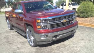 2014 Chevy Silverado stops by the Rimtyme in Charlotte for some 26's Thumbnail