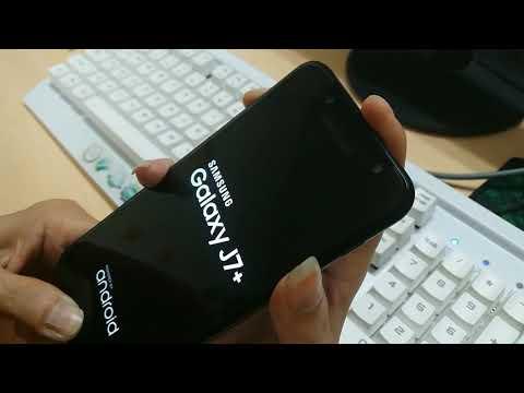 Hard Reset Samsung J7 Plus-Quên mật khẩu màn hình