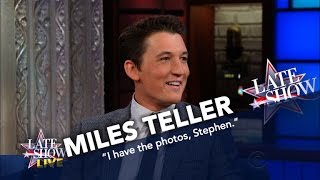 Miles Teller Attended Robert De Niro's Election Night Party