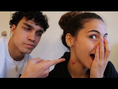 Download HICKEY PRANK ON BOYFRIEND *he freaked out*