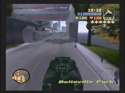 Grand Theft Auto 3 - Flying Rhino Rampage