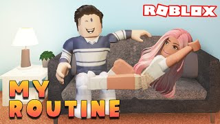 My REAL LIFE Daily Routine!! | Roblox Bloxburg Roleplay