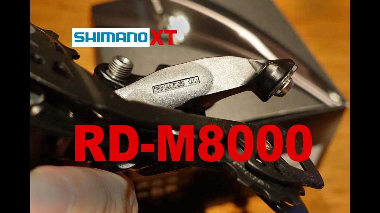 Shimano Xt M8000 Rear Derailleur Manual