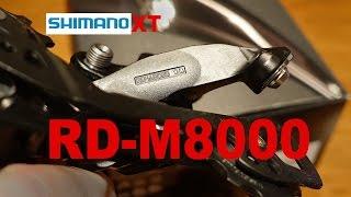XT RD-M8000 11spd Rear Derailleur - Quick look, New vs Old Clutch