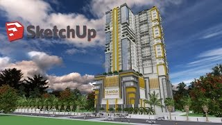 Video Sketchup Modeling 32 Level Apartment Building step by step download MP3, 3GP, MP4, WEBM, AVI, FLV Desember 2017