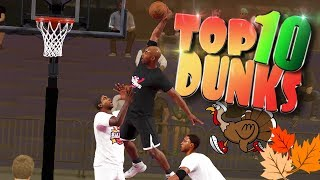 Top 10 Playground Dunks, Putbacks, & Embarrassing Posterizers - NBA 2K18 Highlights thumbnail