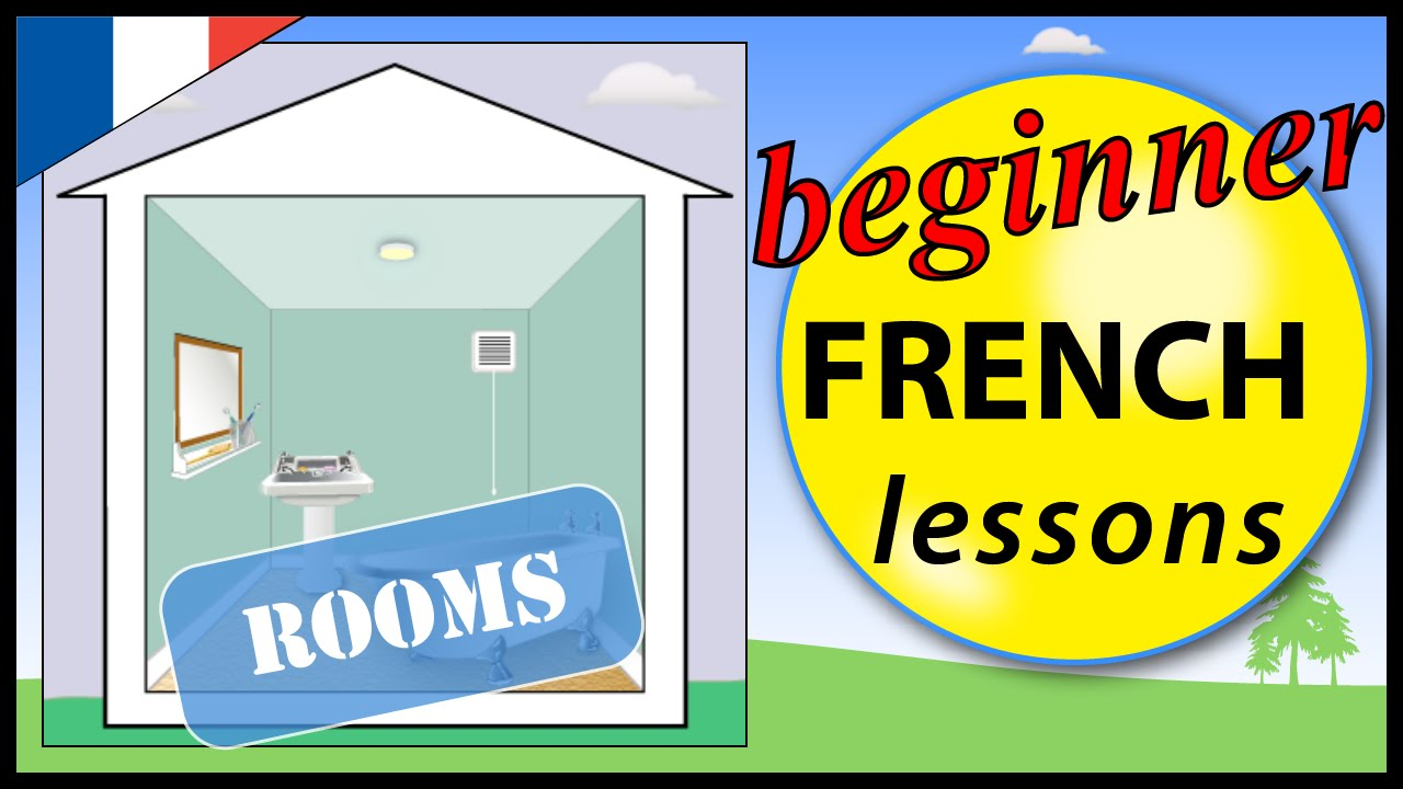Rooms In French Beginner French Lessons For Children Youtube
