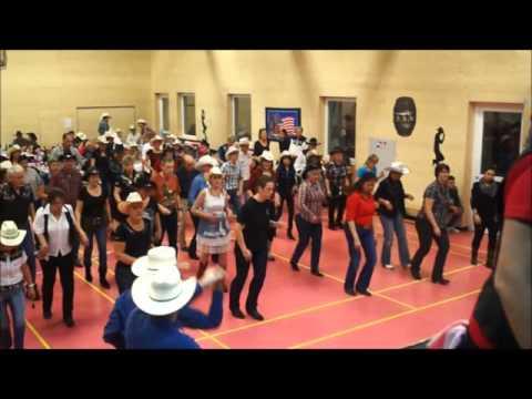 Bal des Fire Boots Country Dance Suisse du 12 décembre 2015 Film 1