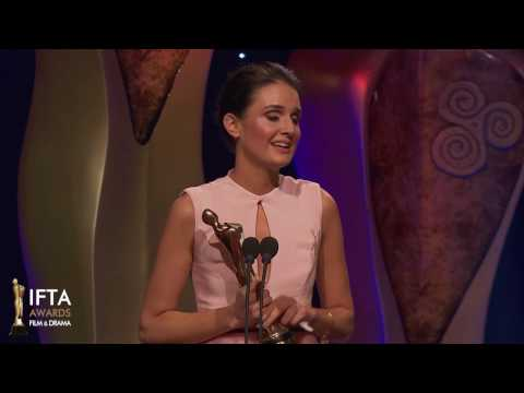 Charleigh Bailey 'A Date For Mad Mary' Winner Best Actress in a Leading Role Film Award - IFTA 2017