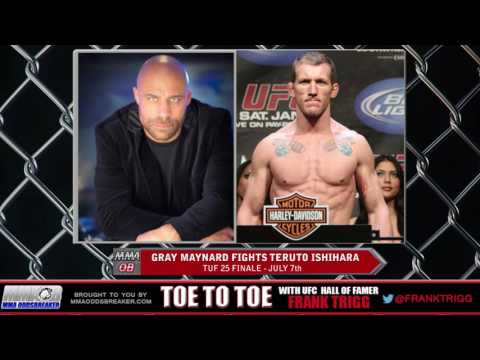 Frank Trigg pre-fight interview with TUF 25 Finale's Gray Maynard