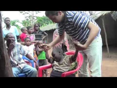 Mozambique Village Physiotherapy - Simone