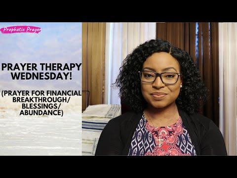 PRAYER THERAPY | Prayer for financial breakthrough/abundance/blessings/prosperity