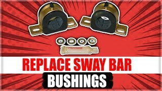 How to Replace the Front Sway Bar Bushings on Lexus ES300
