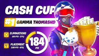 1ST PLACE SOLO CASH CUP   Th0masHD