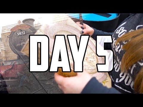 DISNEY DAY 5 - UNIVERSAL STUDIOS | Jason & Taylor