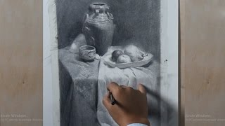 How To Draw Still Life in Pencil #04