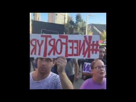 Protesters Protest Courthouse, Police Follow
