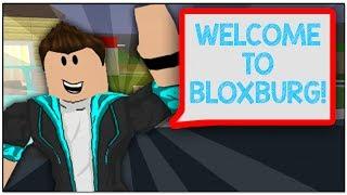 STARTING MY JOURNEY IN ROBLOX BLOXBURG!!