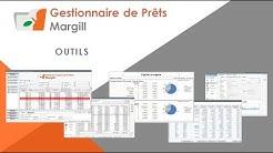Gestionnaire de Prêts Margill - Outils