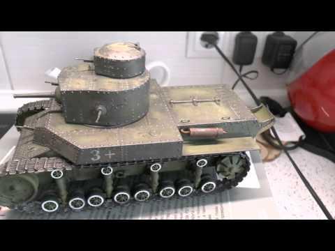 Советский средний танк Т-24 (HobbyBoss, 1/35) часть 7