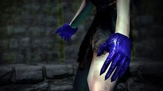 Path of Exile: Purple Necrotic Armour Gloves