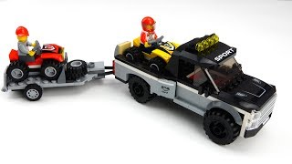 ATV Truck Assembly Video for Children - Build and Play Toys for Kids - Building Blocks Toys