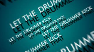Typography - Citizen Cope Let the drummer kick it ( After Effects Composition )