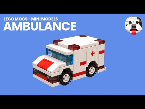 Lego Mocs Mini Lego Ambulance Video Instructions Youtube