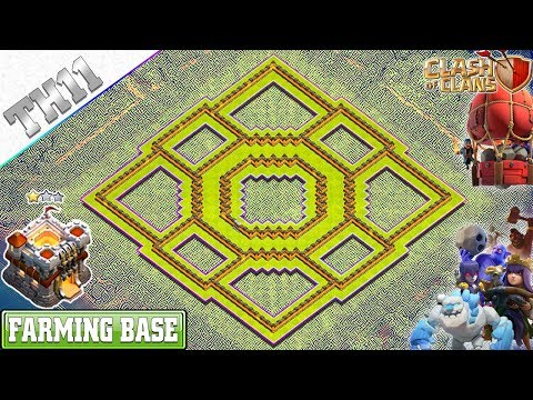 NEW Town Hall 11 (TH11) Base 2019 With Copy Link | TH11 Farming Base | Clash Of Clans