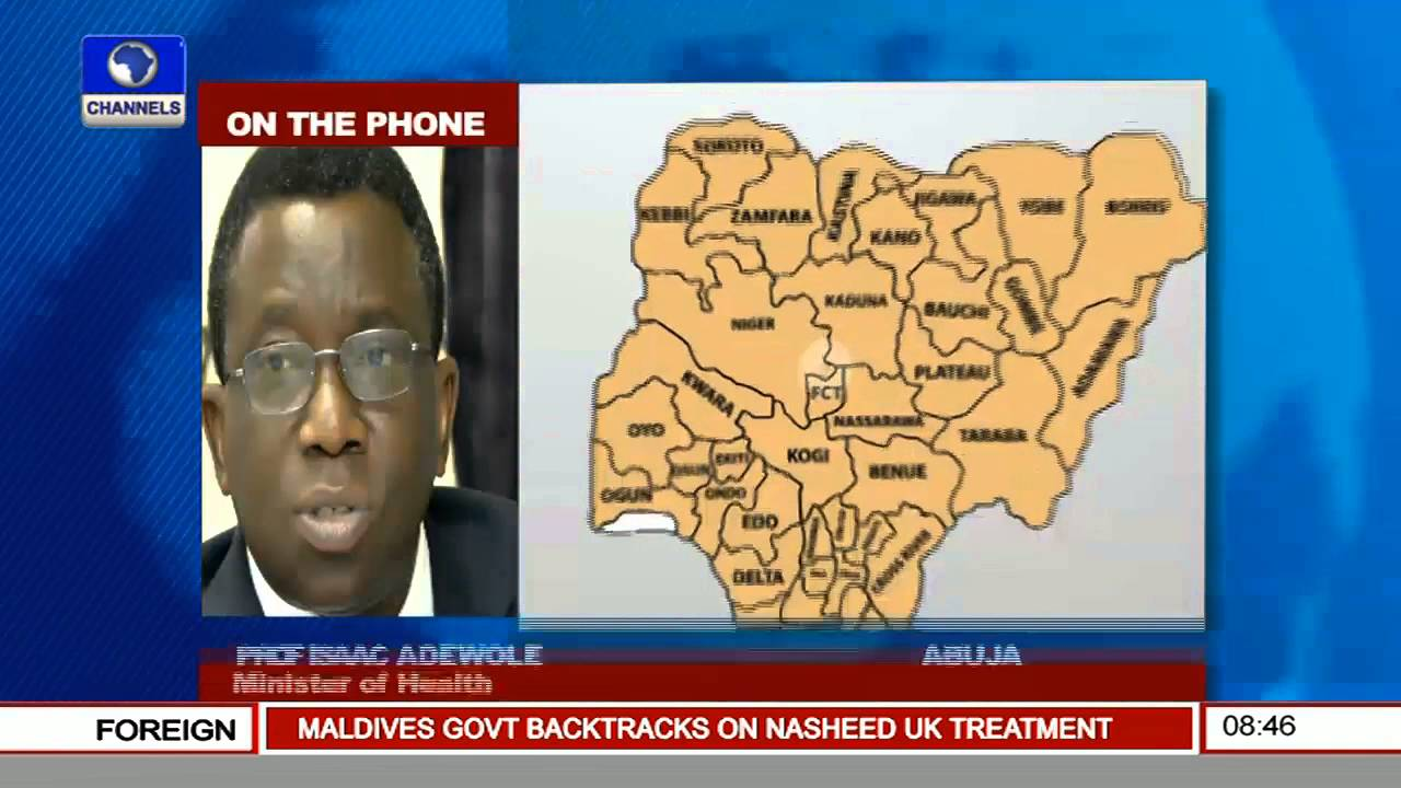 Health Minister Recommends Quick Reporting Of Lassa Fever Cases -- 18/01/16