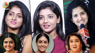 I proposed to Director Bramma in the Audition : Magalir Mattum Actresses Interview   Jyothika