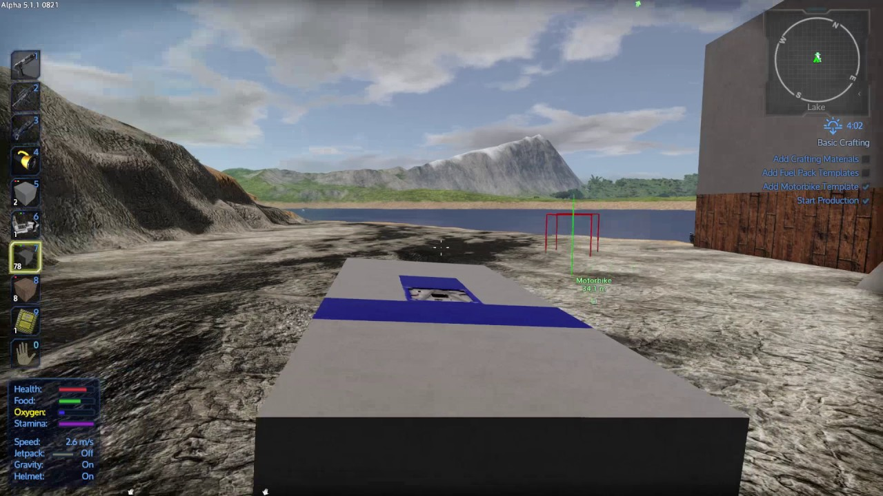 empyrion how to build hover vessel