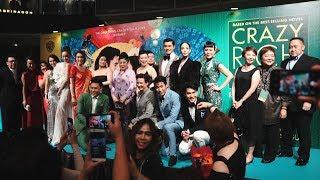 'Crazy Rich Asians' cast in Singapore premiere