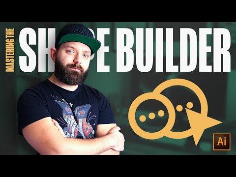 How to MASTER the Shape Builder Tool -  Adobe Illustrator Tutorial thumbnail