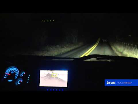 See at Night with FLIR's PathFindIR II Driver Vision Enhancement System