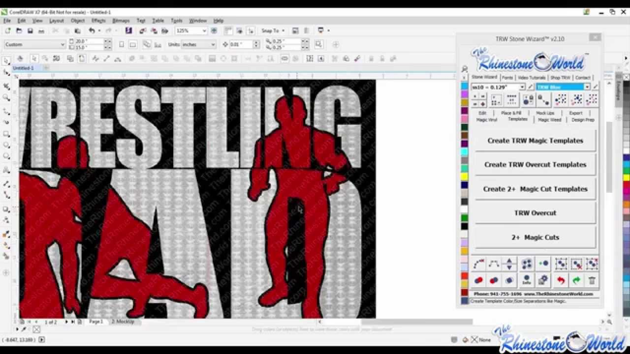 Poster design using corel draw - How To Create A Unique Team Logo Design Using Corel Draw And The Trw Stone Wizard